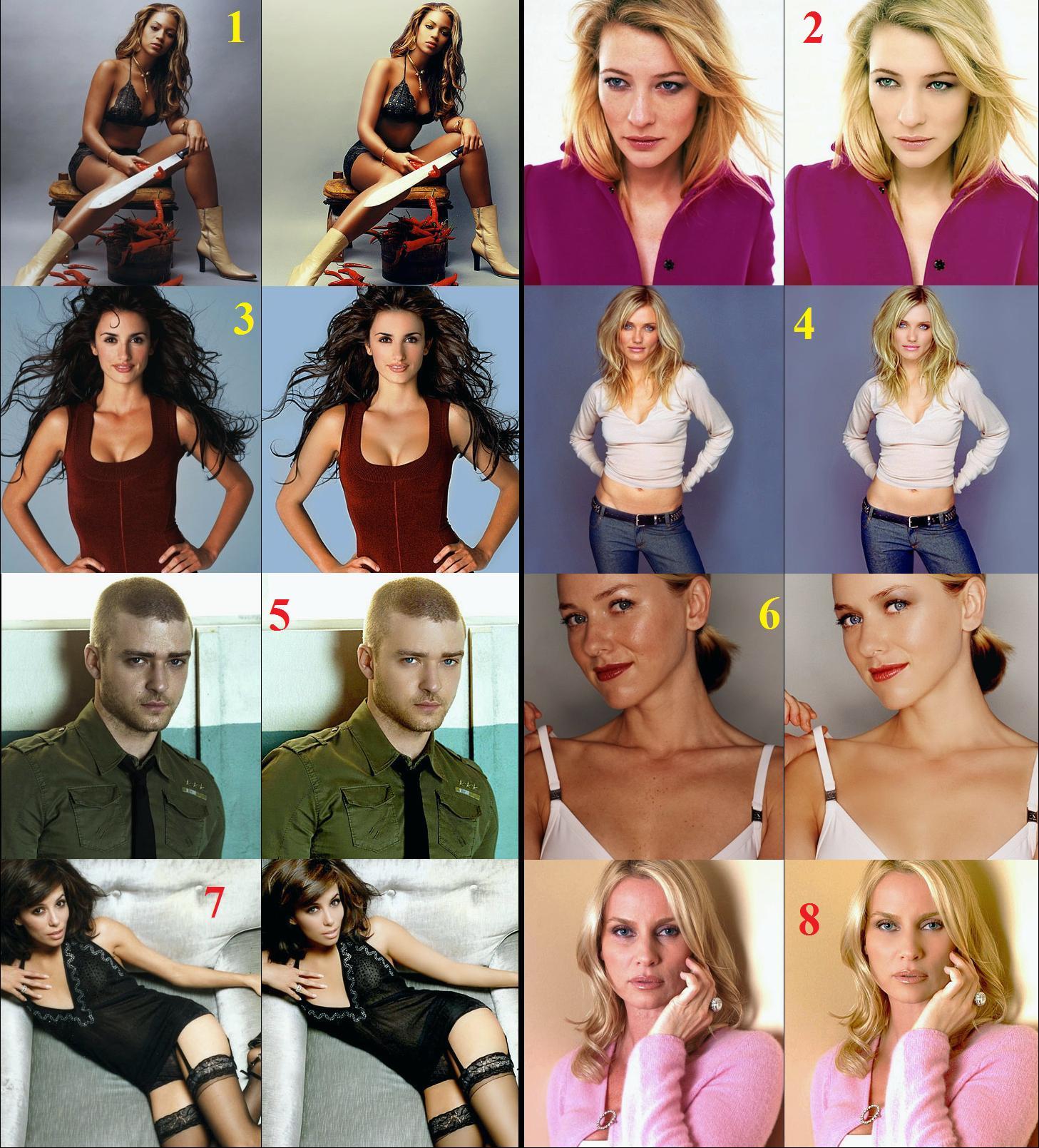 9 fotos de celebridades antes e depois do …